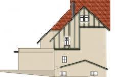 návrh fasády