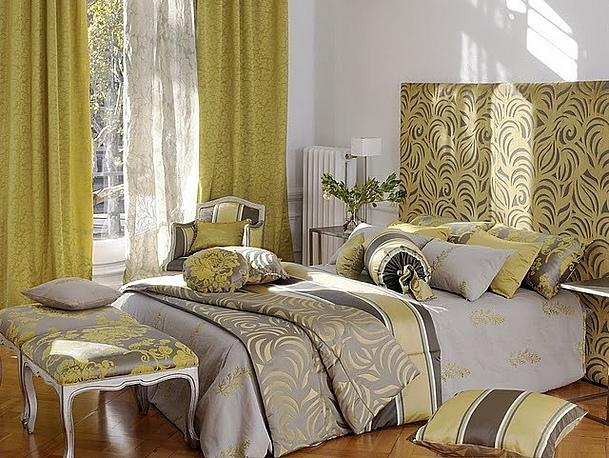 typ interiéru dle barev - glamůr
