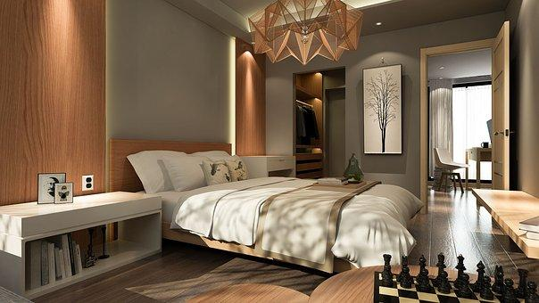 interiér ložnice